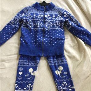 Girls Knit Set